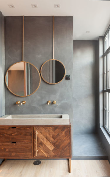 Unique Houses Nuevo estilo industrial Baño B