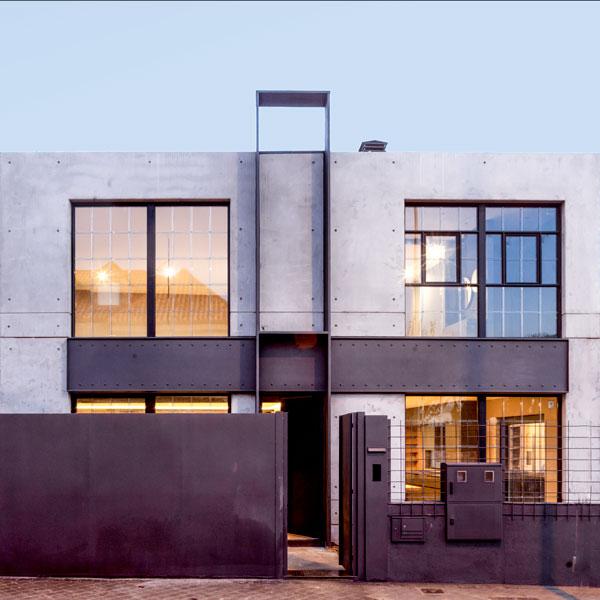 Unique Houses Nuevo estilo industrial Portada Movil